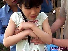 Flexible facialized asian teens mmf three way