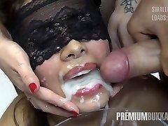 Premium Mass Ejaculation - Victoria swallows 81 big mouthful cumloads