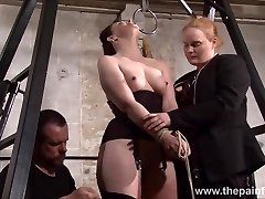 Slave Caroline Pierce whipping and strict dual domination