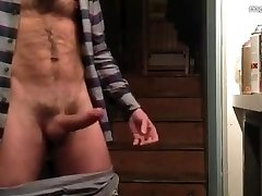 Hairy Hunk Jerks off & Cums