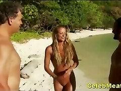 स्वीडिश नंगा रियलिटी टीवी कार्यक्रम सेलिब्रिटी स्तन और बिल्ली