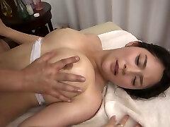 Meguri in Meguri Gets A Rub Down - MilfsInJapan