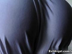 Chanel Preston & Sierra Sanders & Jada Stevens & Mazzaratie Monica in Taut Clothes And Bum #08 Movie