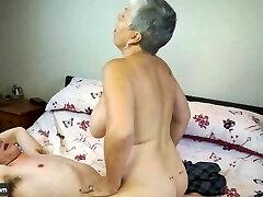 AGEDLOVE Granny Savana fucked with really stiff stick