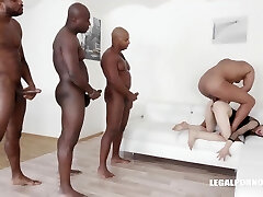 Ciara Riviera is trying an multiracial DAP during a group fucky-fucky session, and enjoying it a lot