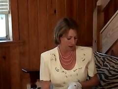 FULLBACK PANTIES - PANTY Tear Up - CHURCH LADY IN FLORAL DRESS FUCKED