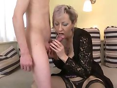sex with milf in beautiful lingerie