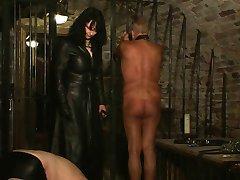 a mistress trains her slaves