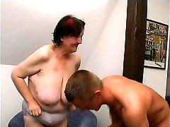 young guy fucks 70 yo ugly fat granny oma