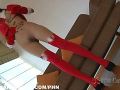 Xmas Special Solo Asian Girls