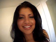 Sexy latin girl POV