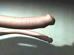 Hentai slave in tentacles take dick