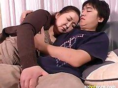 AzHotPorn.com - जापानी दादी होने के एशियाई सेक्स