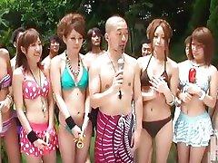 girls in summer vacation