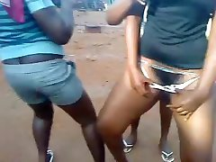 Ghanees butt dance and pussy