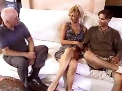 Amateur - MMF DP Threesome - great facial