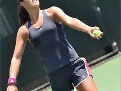 Sexy tennis beauties Ivanovic, Wozniacki, Sharapova