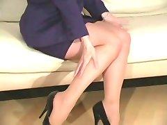 Nina Hartley pantyhose fun D10
