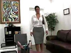 Busty Secretary Fucked In The Office