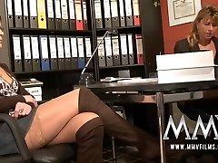 MMV Films Pierced mature wifey gets hard-on