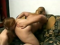 Slut Phat BBW Lezzies love licking wet shaven pussy juice-4