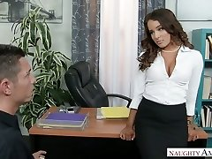 Sexy boss Mila Marx turns this guy into her personal sex fucktoy