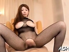 Slutty sweetheart has some stunning 69 activity and rides dick