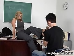 Sara Jay & Danny Wylde in My First Hook-up Teacher