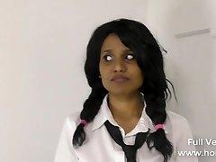 Mischievous School Girl Bribing Horny Educator