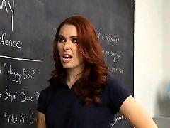 Spectacular senior has fucking fun with her teacher