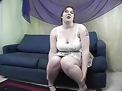 Rowan  BIG BEAUTIFUL WOMAN Gets Spanked And Drilled