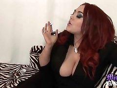 Mistress Jemstone and foot sub