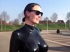 Fat tits spandex slow motion awesome