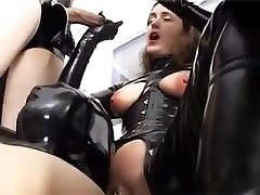 Wicked German sluts enjoy BDSM fetish joy