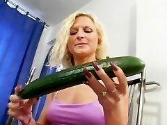 The cucumber always goes first-ever
