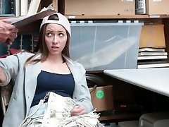 Shoplyfter - Cute Teenie Fucks Her Way Out Of Distress