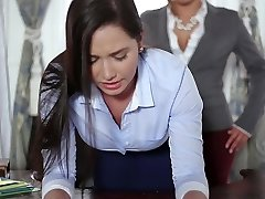 TeenCurves - Keisha Grey Fucks Obedient Secretary Karlee Grey