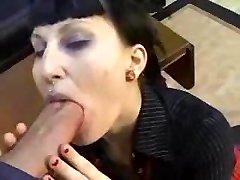 Goth Punk Girl Gets Banged My Huge Cock