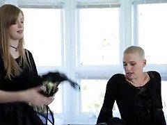 DaughterSwap - Goth Teens Get Plumbed By Elder Men pt.1