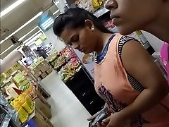 20 Year Elder BIG TITS INDIAN GIRL Snooped In The Mall