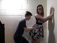 Teens ravage in the school