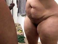 Super thick milf deepthroating cock