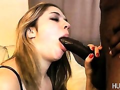 Slut blowing on bbc