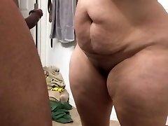 Supah thick milf throating cock