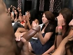 Youthfull pretty girl loves to fellate penis publicly