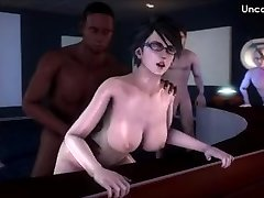 Dark-hued Cock Bitches 17