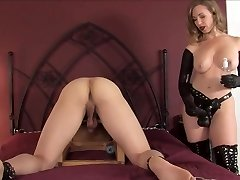 sey mature roping a young guy with a large black cock