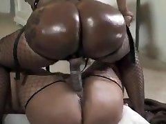 Black lesbians big phat donks huge belt dick