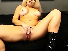 British flexible MILF with splendid accent and big hooters