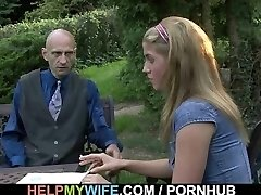 He pounds scorching wife from behind